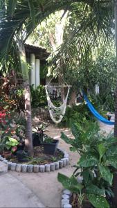 Um jardim em Pousada Maré