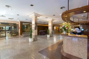 El vestíbulo o zona de recepción de Hotel Europa