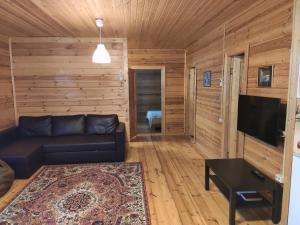 Гостиная зона в Загородный дом Снегири