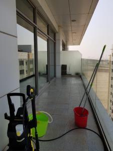 A balcony or terrace at Ap01 European Luxury Tecom