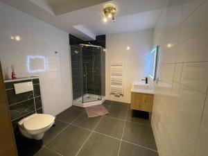 A bathroom at Gîtes Sax 2