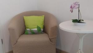 A seating area at Pension Bunz