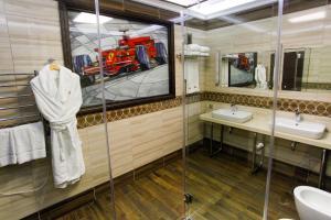 Ванная комната в Арт Отель NRING