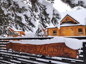 Obiekt Borowikowe Zacisze drewniane domy z dostępem do balii i sauny zimą