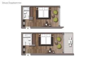 The floor plan of Sporthotel & Resort Grafenwald Daun - Vulkaneifel