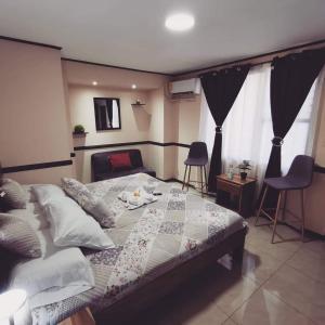 Cama o camas de una habitación en Toucan Hostel
