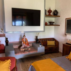 TV o dispositivi per l'intrattenimento presso villa porta a colle