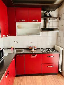 A kitchen or kitchenette at Orio Relax&Fly