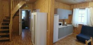 Кухня или мини-кухня в База отдыха Связист