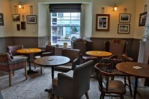 The lounge or bar area at The Seale Arms