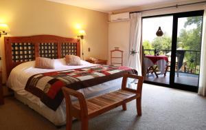 Cama o camas de una habitación en SEL Lodge & Spa