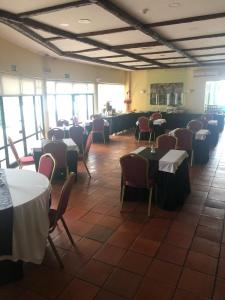 A restaurant or other place to eat at Hotel Castelo de Vide