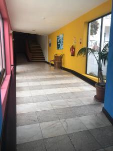 The lobby or reception area at Hotel Castelo de Vide