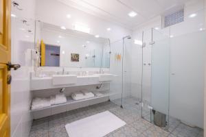 Um banheiro em Pousada do Sandi