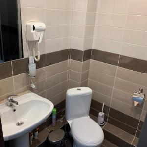 Ванная комната в Гостиница Ривьера