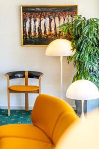 Et opholdsområde på Strandhotel Balka Søbad