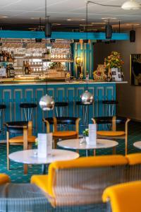 En restaurant eller et andet spisested på Strandhotel Balka Søbad