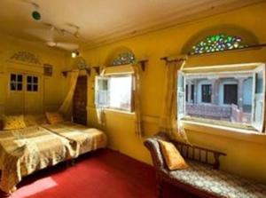 A room at Chandelao Garh