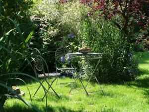 Ein Garten an der Unterkunft Apartments Lettenmaier
