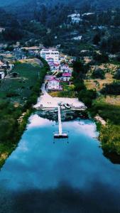 A bird's-eye view of Big Day Hotels-Lago de Tota