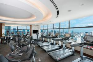 The fitness center and/or fitness facilities at InterContinental Bangkok, an IHG Hotel