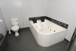 A bathroom at Horsham Mid City Court Motel