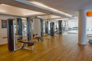 The fitness center and/or fitness facilities at The Palace Hotel Kota Kinabalu
