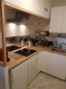 A kitchen or kitchenette at Le relais perché