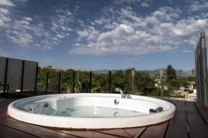 Un baño de Solandes Apart & Wines