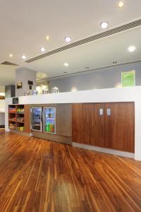 The lobby or reception area at Hampton by Hilton Sheffield