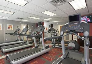 The fitness center and/or fitness facilities at Residence Inn Holland