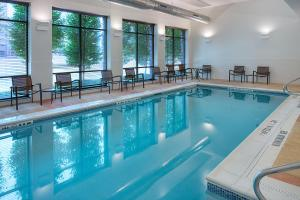 The swimming pool at or near Hyatt Place Pittsburgh North Shore