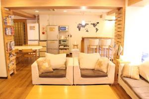 Coin salon dans l'établissement K's House Tokyo - Travelers Hostel
