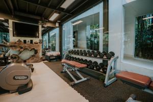 Das Fitnesscenter und/oder die Fitnesseinrichtungen in der Unterkunft The Chill Resort and Spa, Koh Chang
