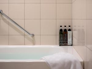 A bathroom at Mitsui Garden Hotel Sapporo