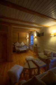 Ein Sitzbereich in der Unterkunft Schmidtalien Schlemmen und Schlummern