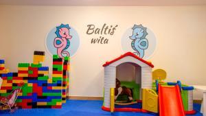 The kid's club at Hotel Villa Baltica