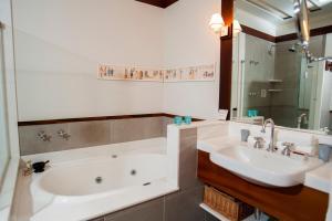 Um banheiro em Casa Turquesa - Maison D´Hôtes