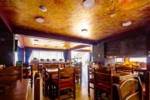 A restaurant or other place to eat at Life Hotel Valle Sagrado