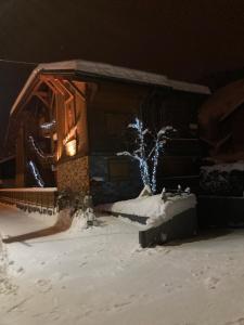 Le Montana v zimě
