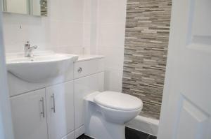 A bathroom at The Lemonfield Hotel