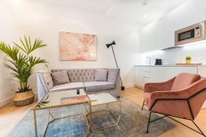 Zona de estar de Debambú Suites