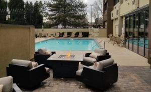 The swimming pool at or close to Holiday Inn Denver Lakewood, an IHG Hotel