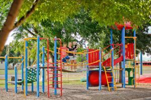 Children's play area at BIG4 Mildura Getaway