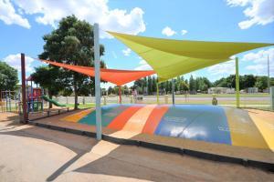 The swimming pool at or near BIG4 Mildura Getaway