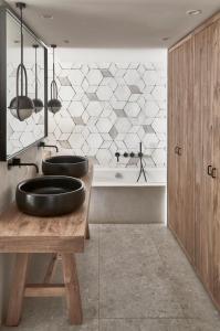 A bathroom at Cretan Malia Park a Member of Design Hotels