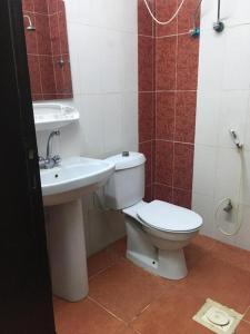 حمام في المسكن للاجنحة المفروشة بالقنفدة 1