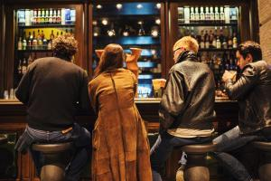 Salon ou bar de l'établissement Generator Venice