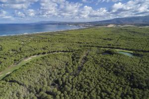 Vista aerea di Is Arenas Private Golf Foresterie - Only for Golfers