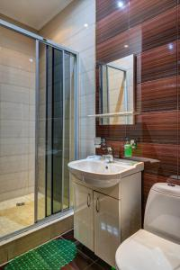 Ванная комната в Отель в Текстильщиках